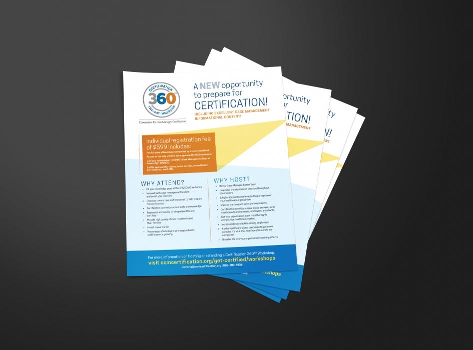 ccmc flyer certification case promote attending hosting commission manager designed both