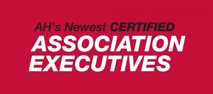 Association Headquarters Announces Its Newest Certified Association Executives