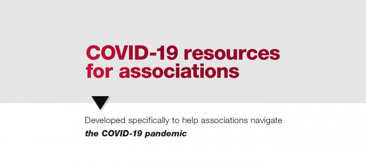 Various resources for associations dealing with COVID-19 shifts